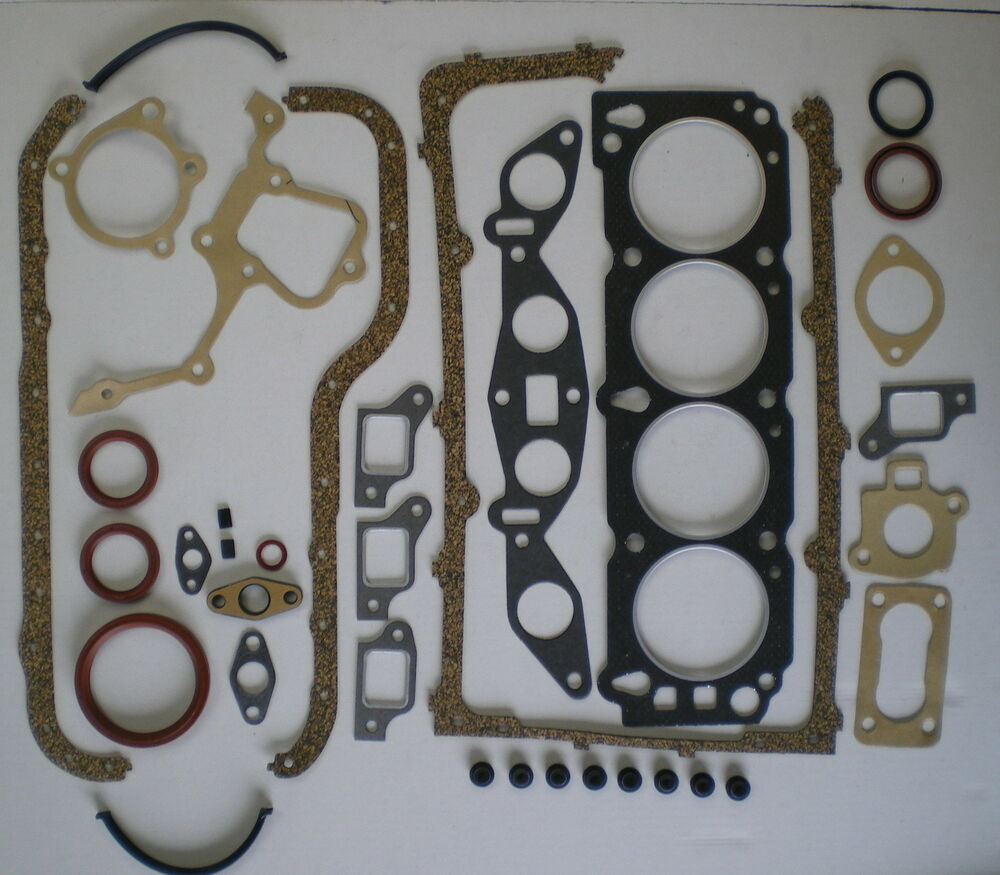 full engine head gasket set ford capri sierra transit pinto ohc 1 6 1983 93 vrs ebay. Black Bedroom Furniture Sets. Home Design Ideas