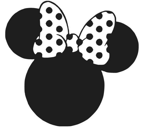 MINNIE MOUSE EARS DECAL STICKER DISNEY WINDOW CAR LAPTOP CHOOSE COLOR | eBay