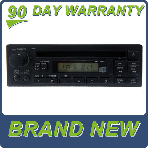 99 2004 new honda odyssey accord civic cr v crv radio