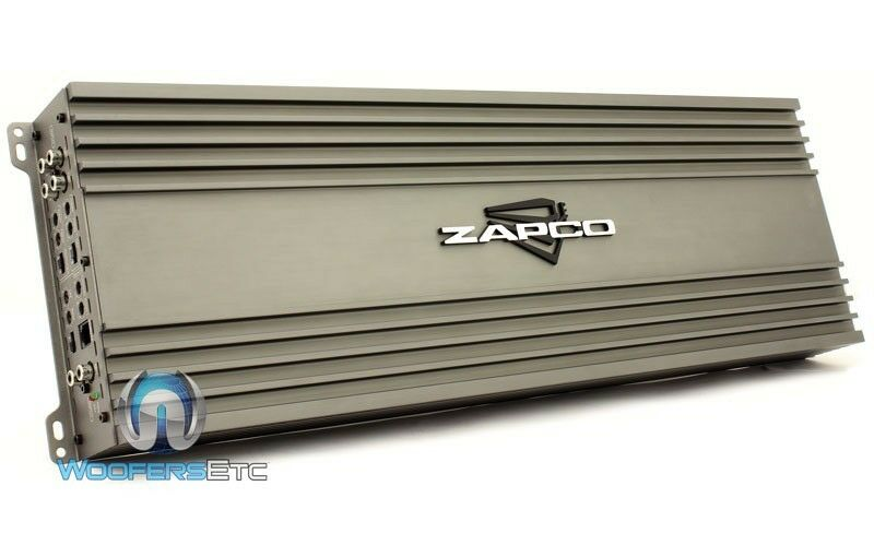 zapco z 150 6 6 channel 2760w max component speakers class a b car amplifier new ebay. Black Bedroom Furniture Sets. Home Design Ideas