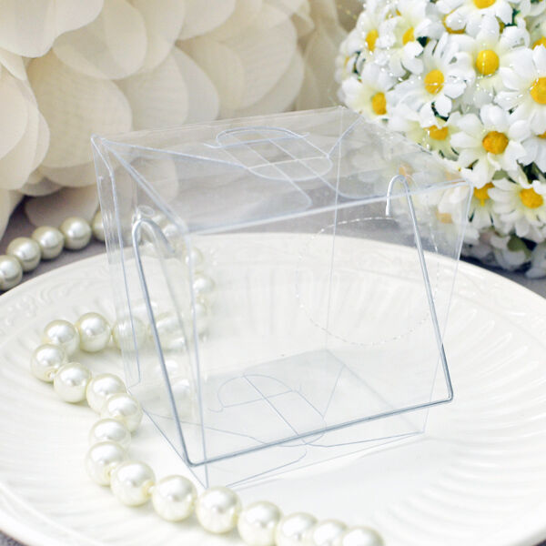 12 Clear Chinese Mini Take Out Boxes Wedding Birthday