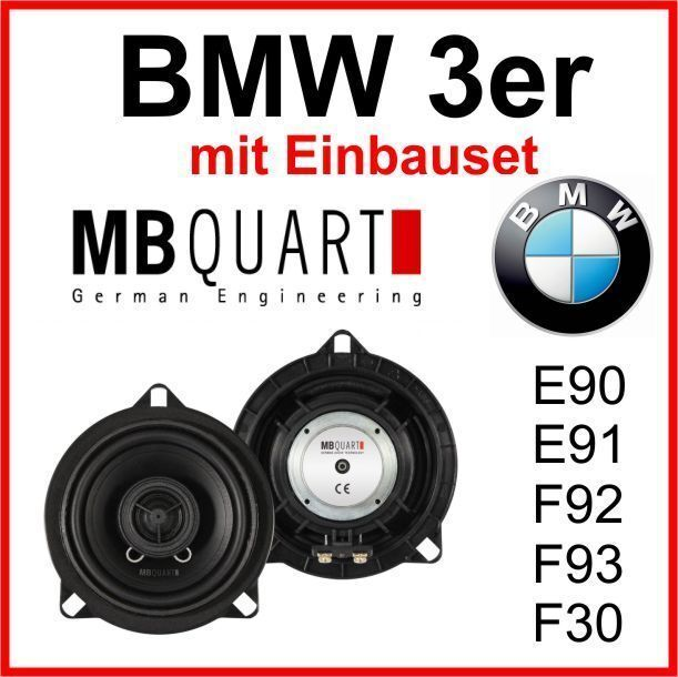 bmw 3er e90 e91 e92 e93 f30 lautsprecher mb quart qm100bmw. Black Bedroom Furniture Sets. Home Design Ideas