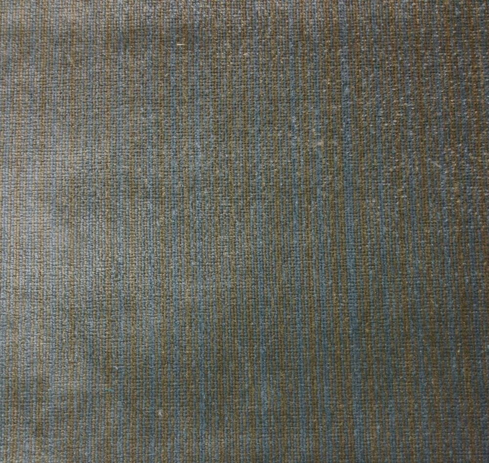 claremont sibton slate blue strie velvet upholstery linen fabric by the yard ebay. Black Bedroom Furniture Sets. Home Design Ideas