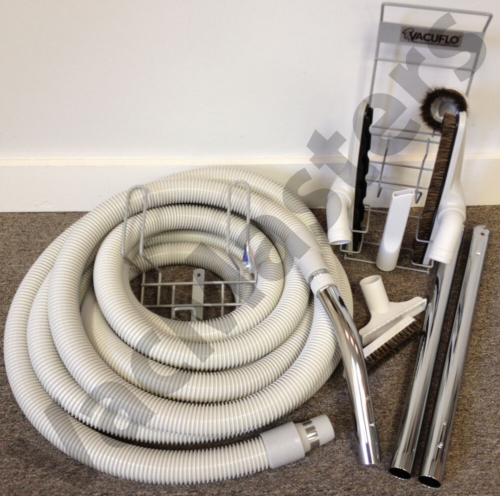 Genuine Vacuflo Central Vacuum Cleaning Kit W Hose Md