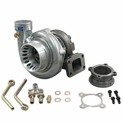 Greddy Turbo Parts: GT35 T3 Turbo Charger Anti-Surge 500+ HP + Oil Fitting
