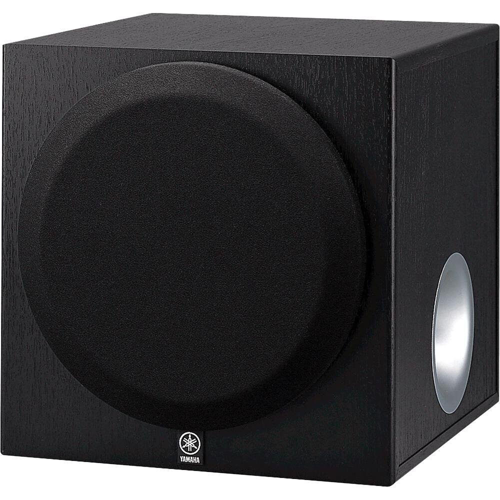 new yamaha yst sw012 8 inch front firing active subwoofer. Black Bedroom Furniture Sets. Home Design Ideas