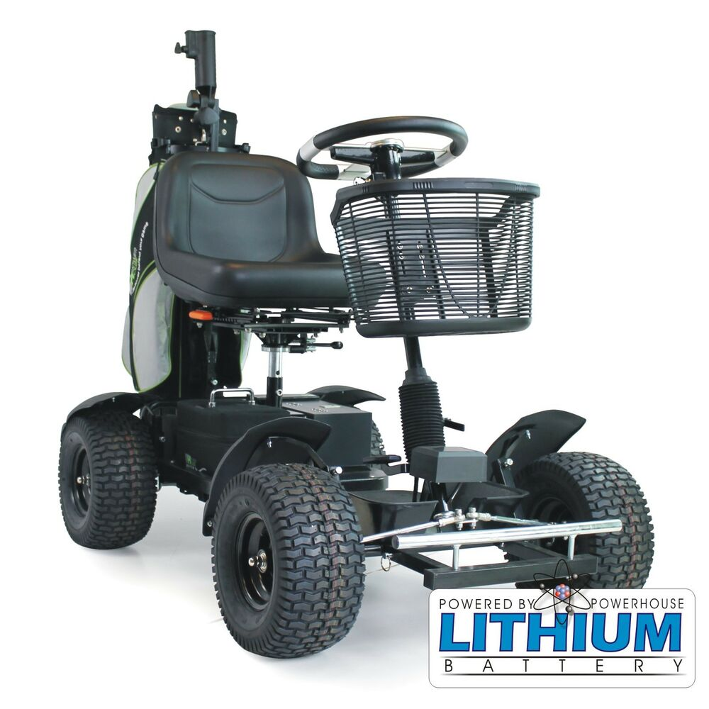 One Person Golf Cart >> Powerhouse Titan-S Elite Lithium Battery Electric Golf Buggy | eBay