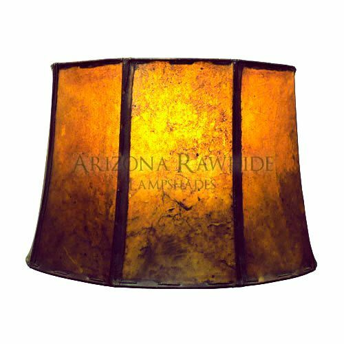 Southwestern Rawhide Leather Lamp Shade 19 Quot Hx21 Quot Wx14