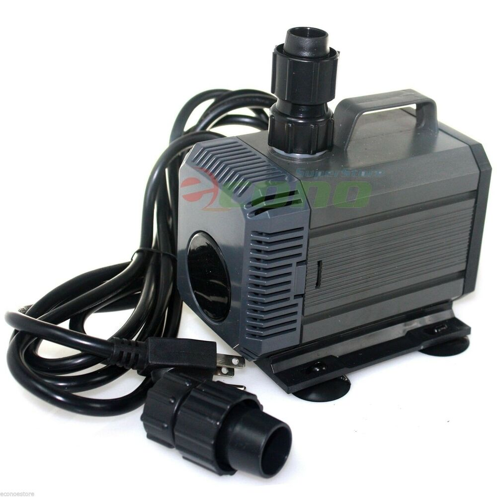 Ul 792gph submersible koi aquarium pond water pump for Koi pool pumps