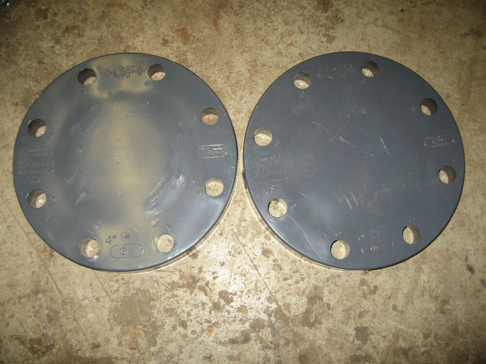 Gf piping systems blind flange pvc quot schedule
