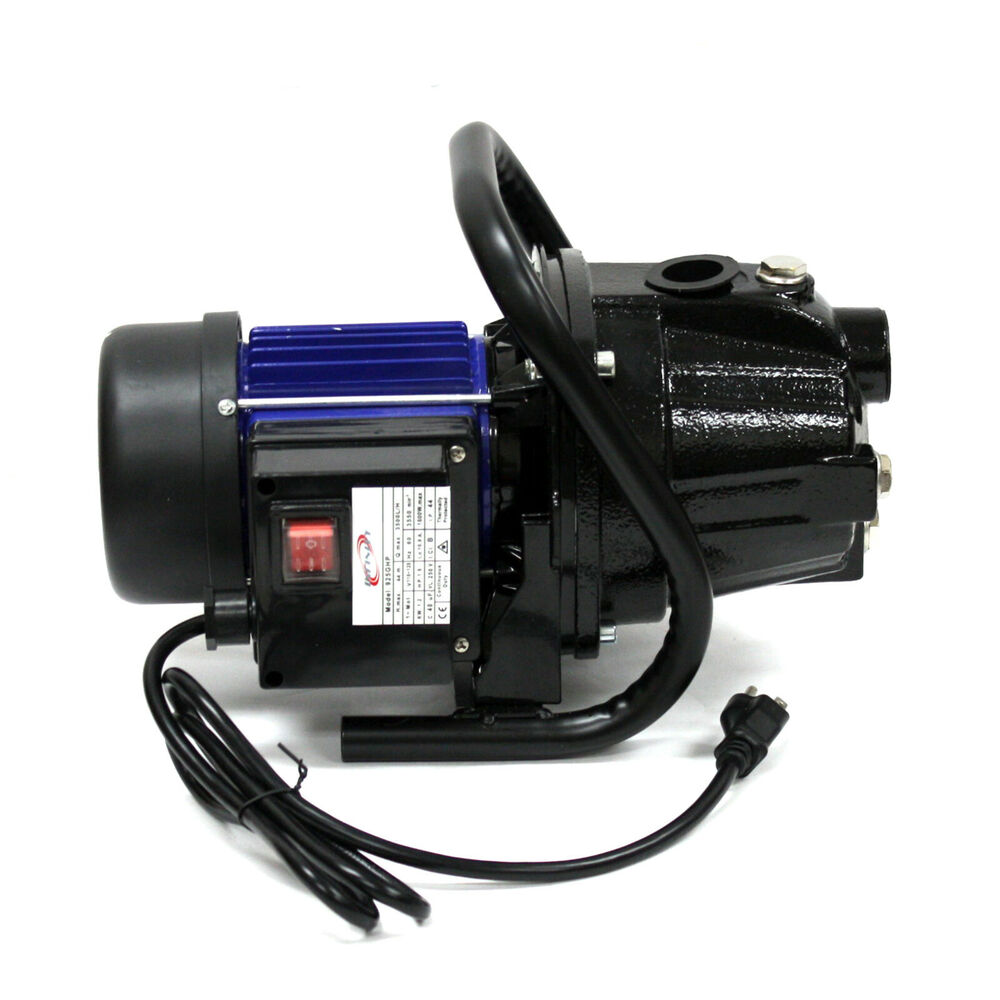 1 6 Hp 1200 Watts Stainless Steel Jet Booster Water Pump