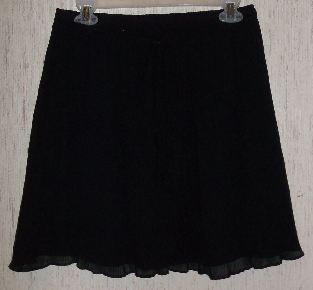 excellent womens juniors maurices flirty lined black micro