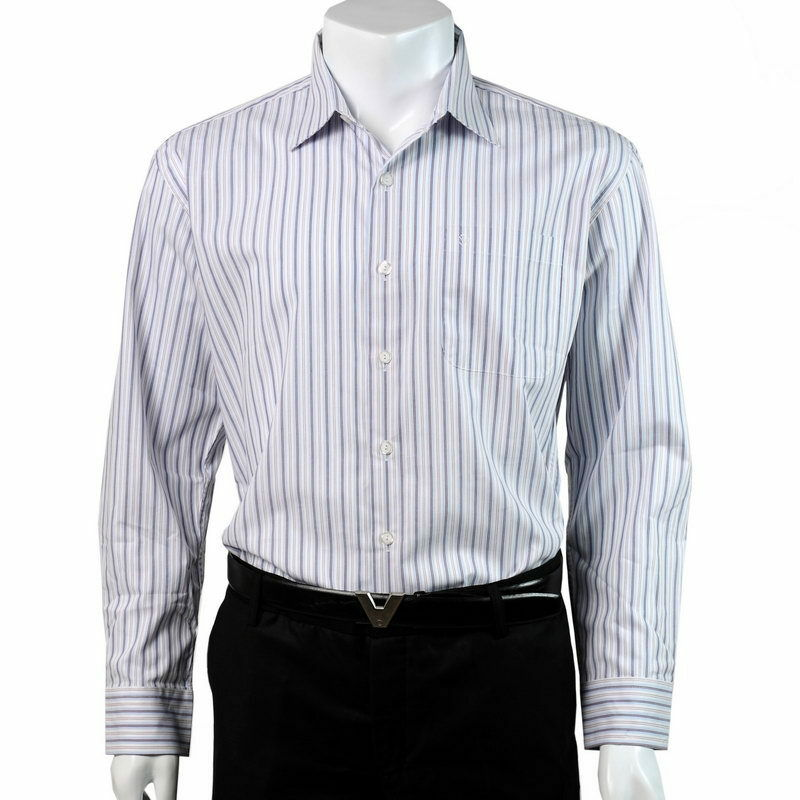 New 100 cotton woven long sleeves men formal shirt blue 100 cotton tuxedo shirt