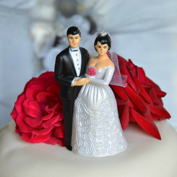 dark hair wedding cake toppers vintage and groom cake topper black hair and 13343