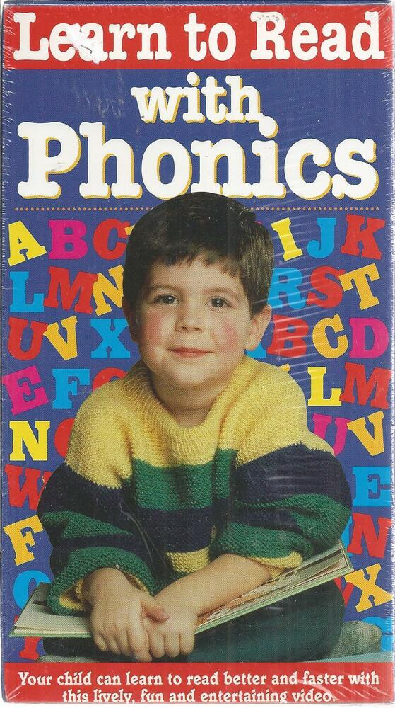 Learn To Read With Phonics New Vhs 18713065339