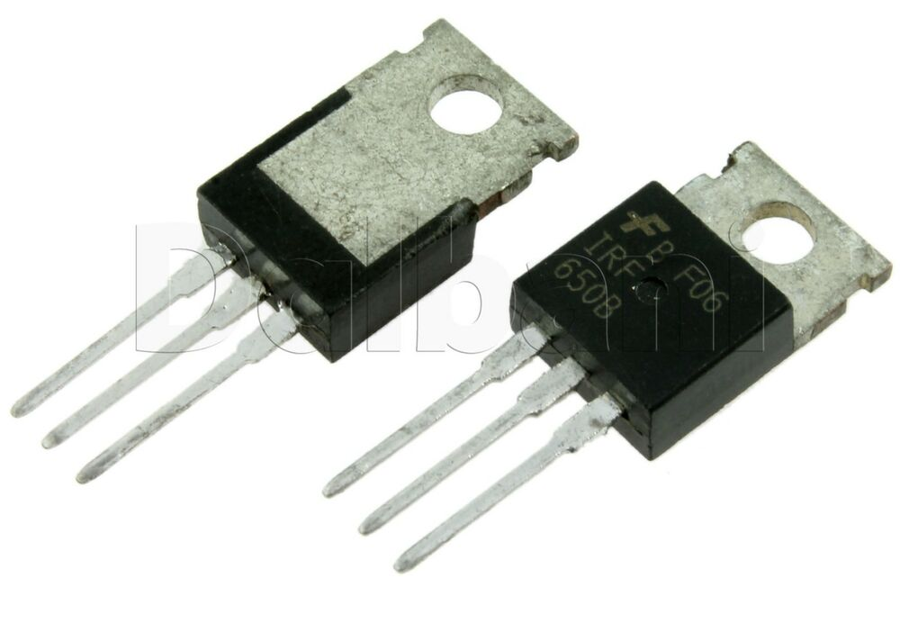 IRF650B Original Pulled 200V 28A .085Ω N-CHANNEL Fairchild MOSFET TO ...