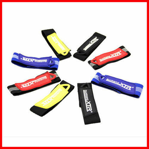Reflective strips clip on clothing