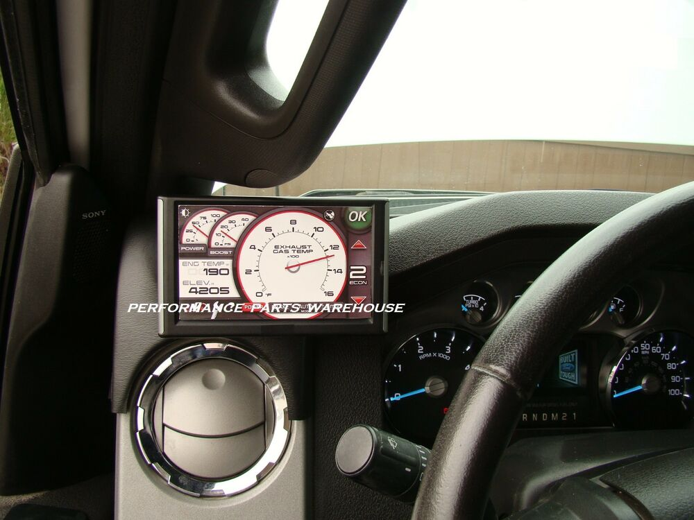 BANKS iQ & iDASH 2.0 DASH MOUNT 2008-12 FORD F250 F350 | eBay