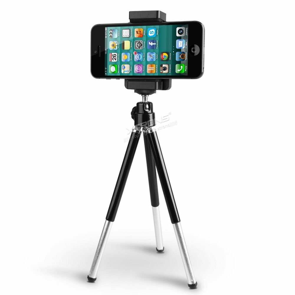 mini tripod stand holder mount camera mobile apple iphone ipod touch samsung uk ebay. Black Bedroom Furniture Sets. Home Design Ideas
