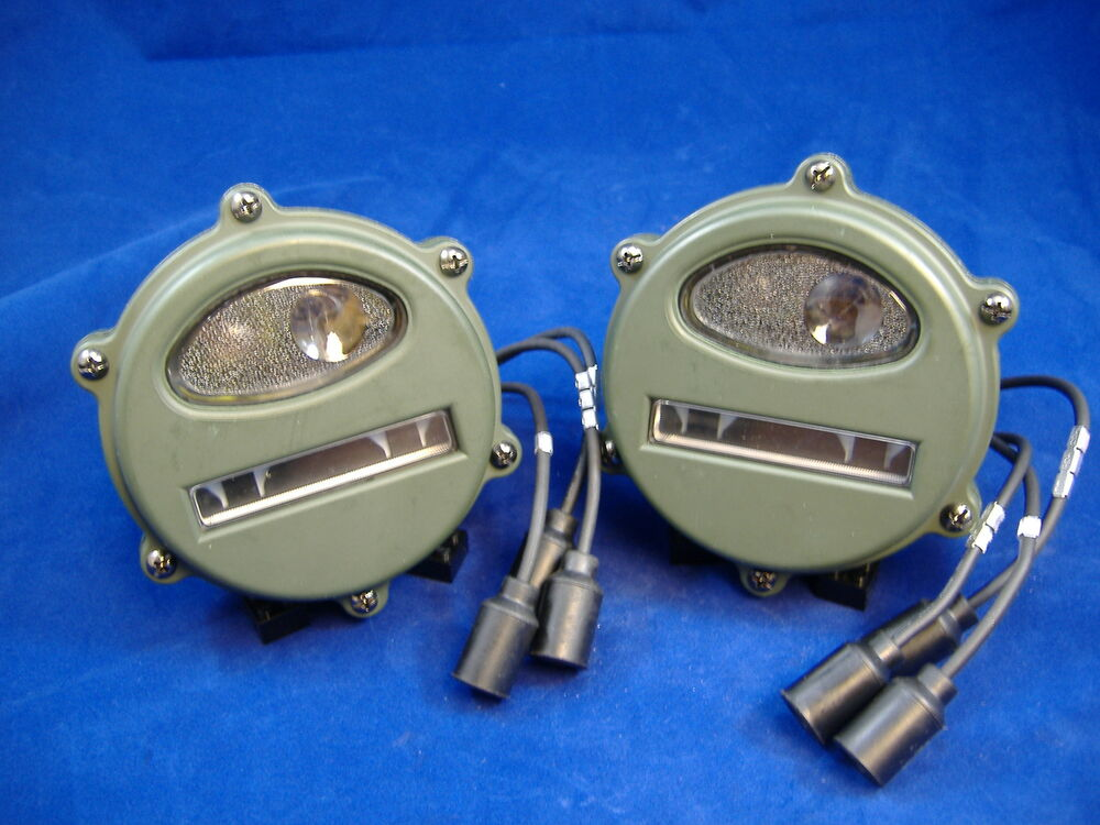 M35a2 Early Style Front Marker Light Set Of Two M35a1 M37