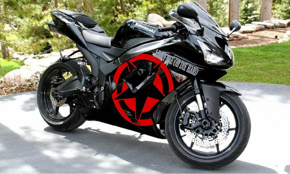 LIVE FREE OR DIE HARDSport Bike Graphics Motorcycle Decals - Motorcycle decal graphics