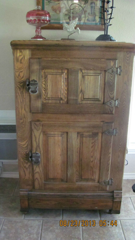 Antique Ice Box Ebay