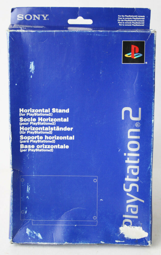 OFFICIAL SONY PLAYSTATION 2 HORIZONTAL STAND MADE IN JAPAN