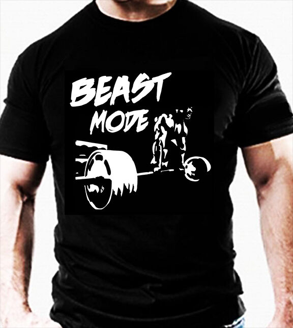 Premium bodybuilding gym t shirt mma novelty wear workout for Best fitness t shirts