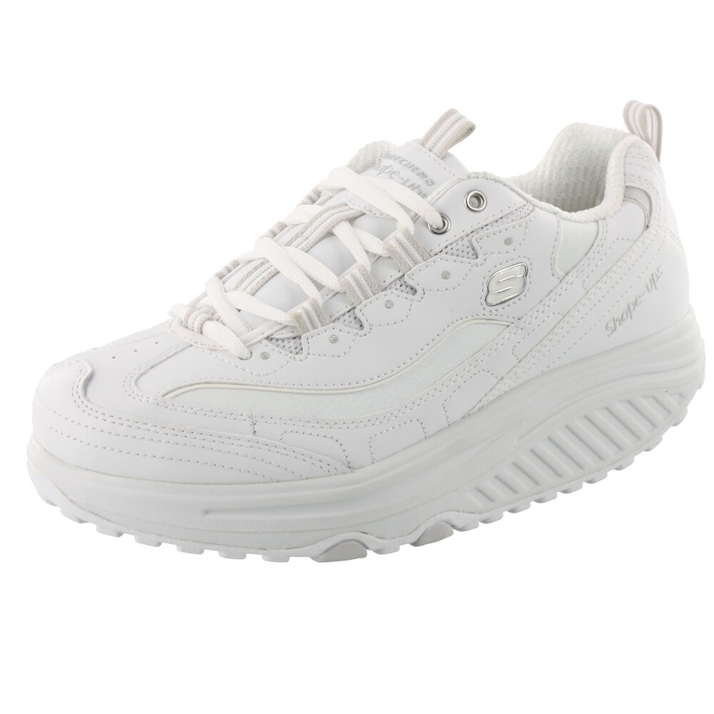 Skechers Shape Ups Metabolize  Shoes White
