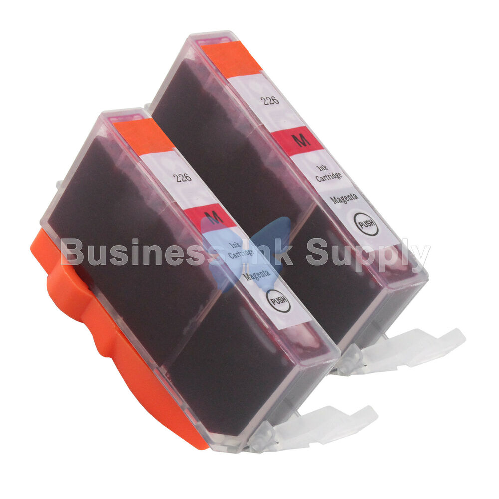 2 MAGENTA CLI 226 Ink For Canon Printer PIXMA MX712 MX882