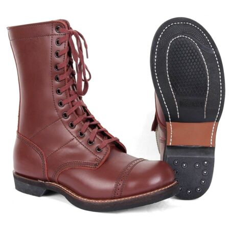 img-WW2 Repro American Para Boots - US Army Paratrooper Leather Jump Boots WWII