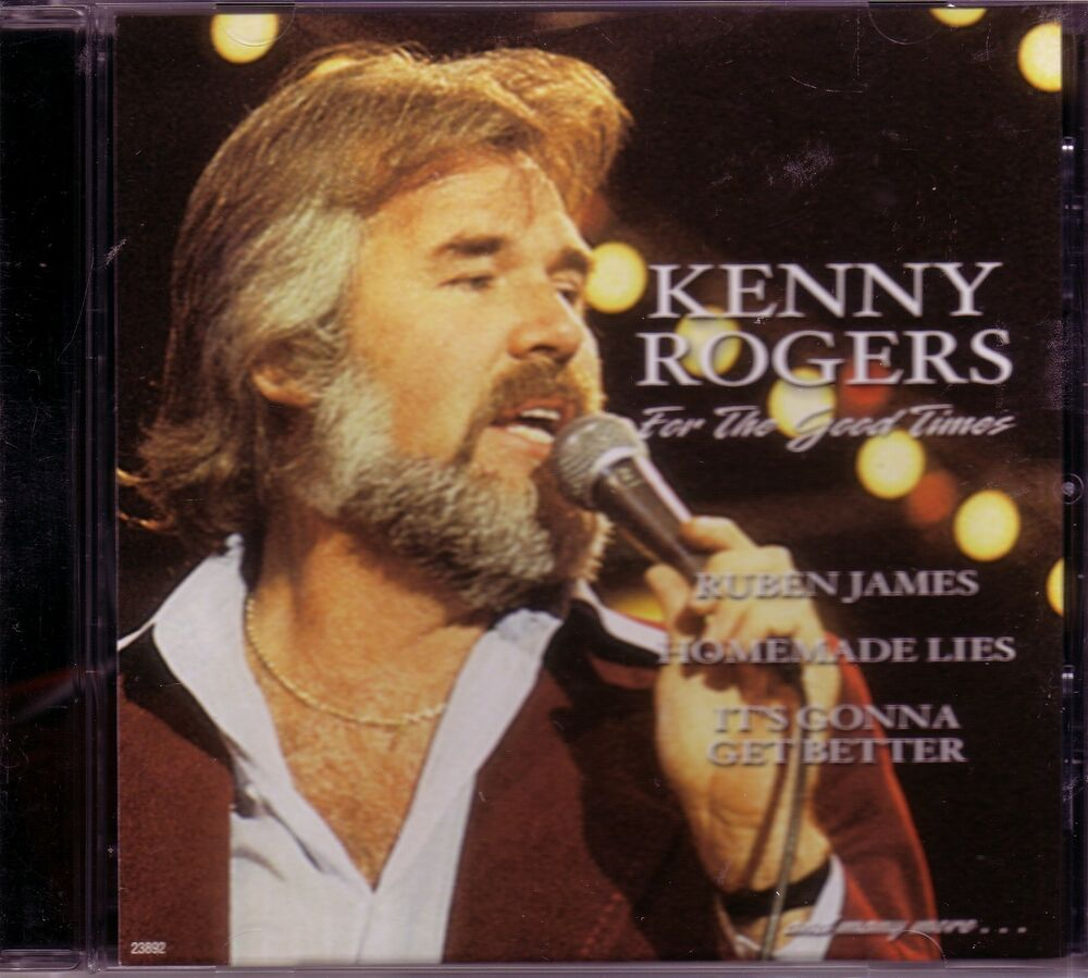 KENNY ROGERS For Good Times CD Classic 70s Country RUEBEN JAMES LAY ...