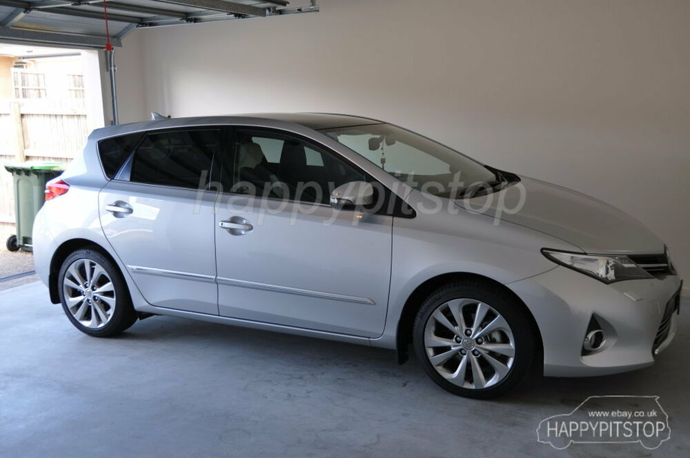 Toyota 2013 2014 Auris Corolla Altis Door Body Moulding Side Chrome Molding Ebay