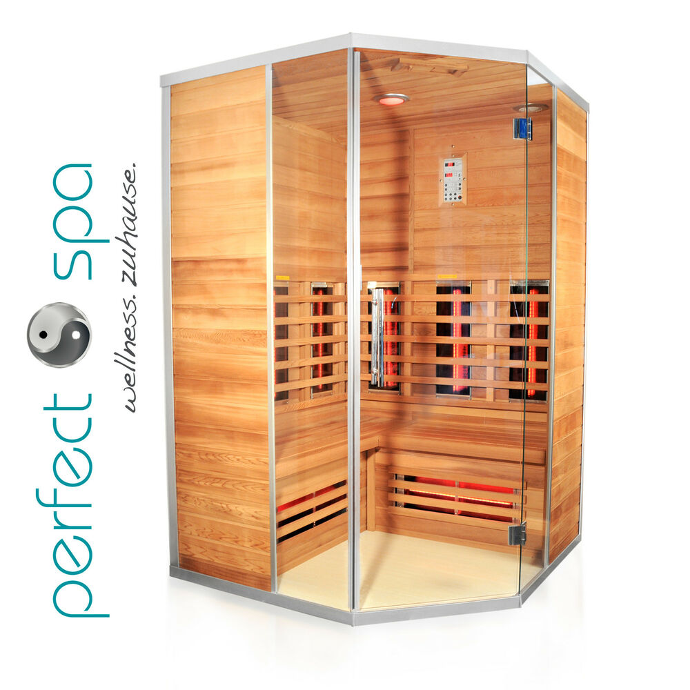 teneriffa infrarotkabine infrarot sauna w rmekabine infrarotsauna ebay. Black Bedroom Furniture Sets. Home Design Ideas