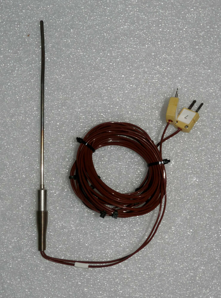 Two Wire Thermocouple : Lot of type k thermocouple male pin connectors with