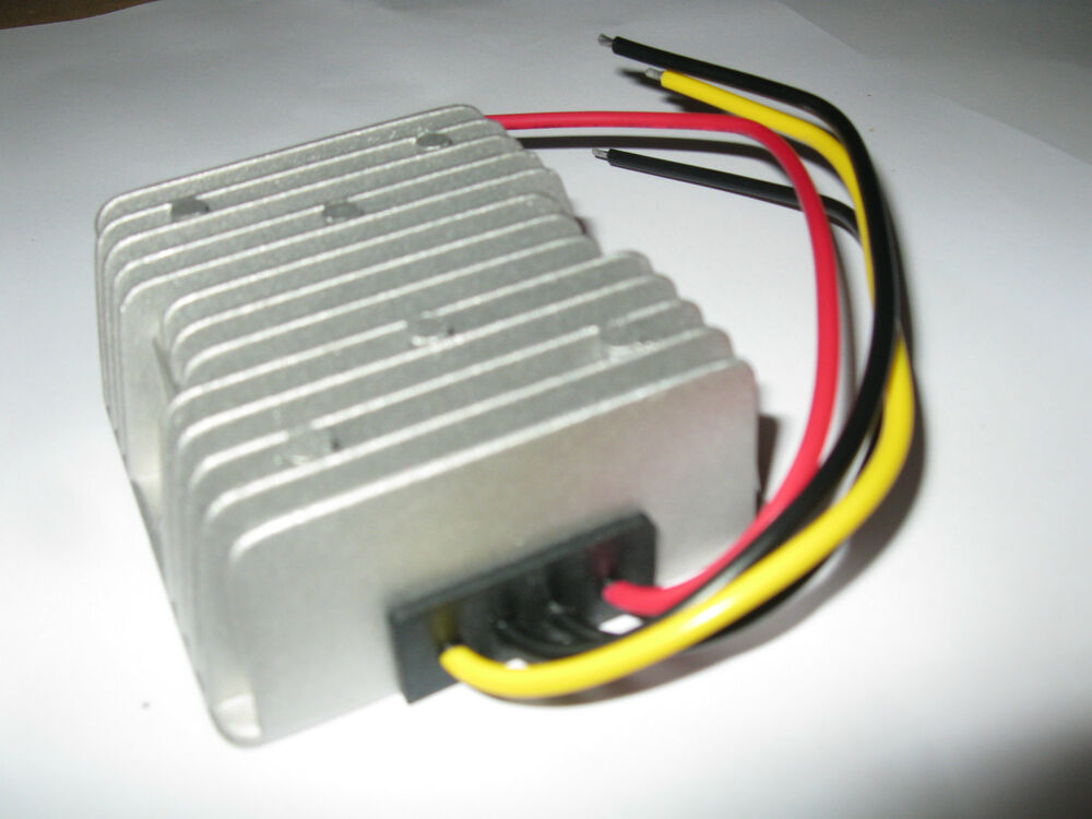 W golf cart voltage reducer converter regulator volt