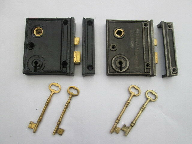old vintage style bathroom bedroom rim door lock latch box lock ebay