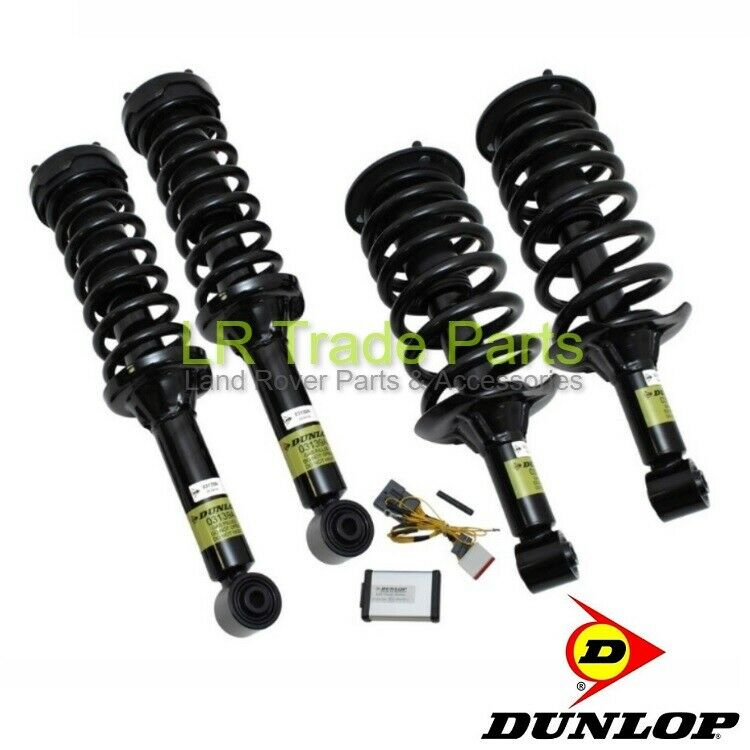 Land Rover Discovery 3 Air Bag Suspension To Coil Spring