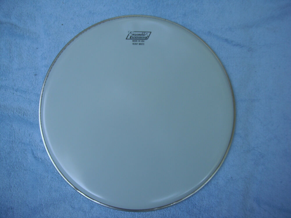 ludwig 15 ensemble heavy white drum head ebay. Black Bedroom Furniture Sets. Home Design Ideas