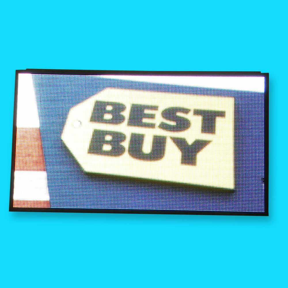 PROGRAMMABLE LED SIGN - 36 inches * 72 inches OUTDOOR Sign   Financing Available   eBay