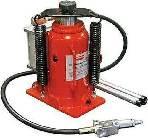 Lot Of Two 12 Ton Hydraulic Air Bottle Floor Jack