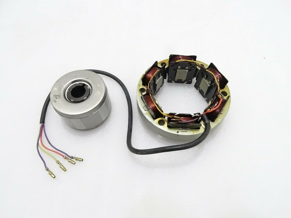 Royal Enfield 12v 4 Wire Alternator And Rotor  Code2183