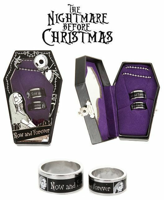 Nightmare before christmas wedding rings photos Engagement and