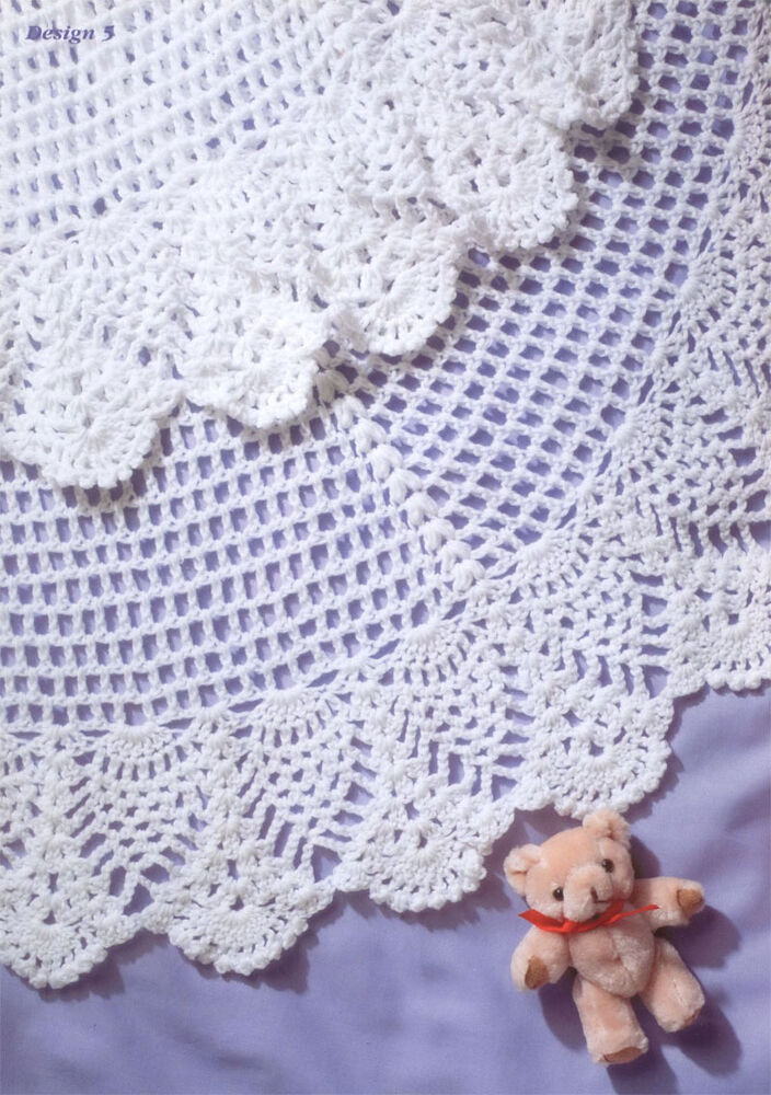Baby - Beautiful Crochet Baby Shawl Pattern- lovely ...