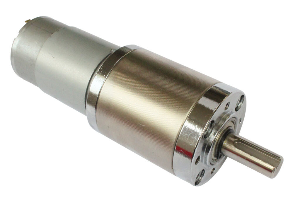 12v Dc Electric Motor With 99 1 Planetary Gearbox High