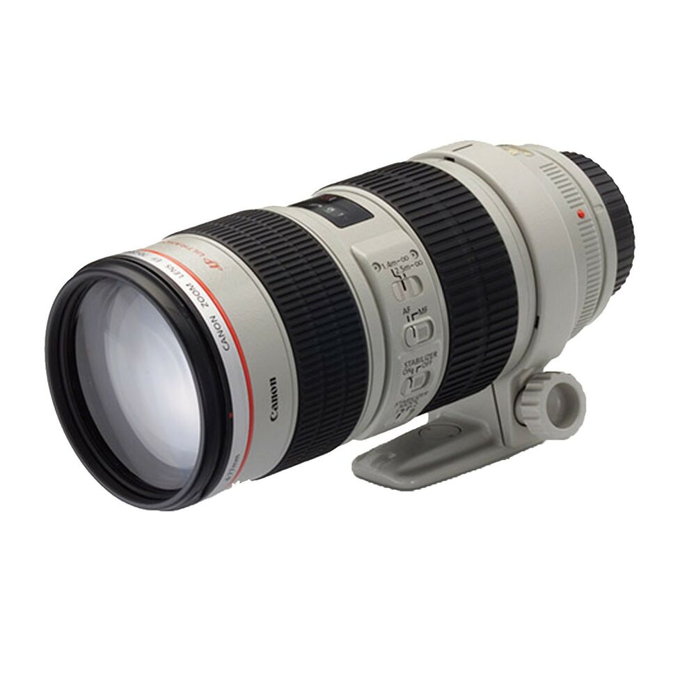 Canon ef 70 200mm f 2 8l usm telephoto zoom lens slr x for Schuhschrank 70 x 200