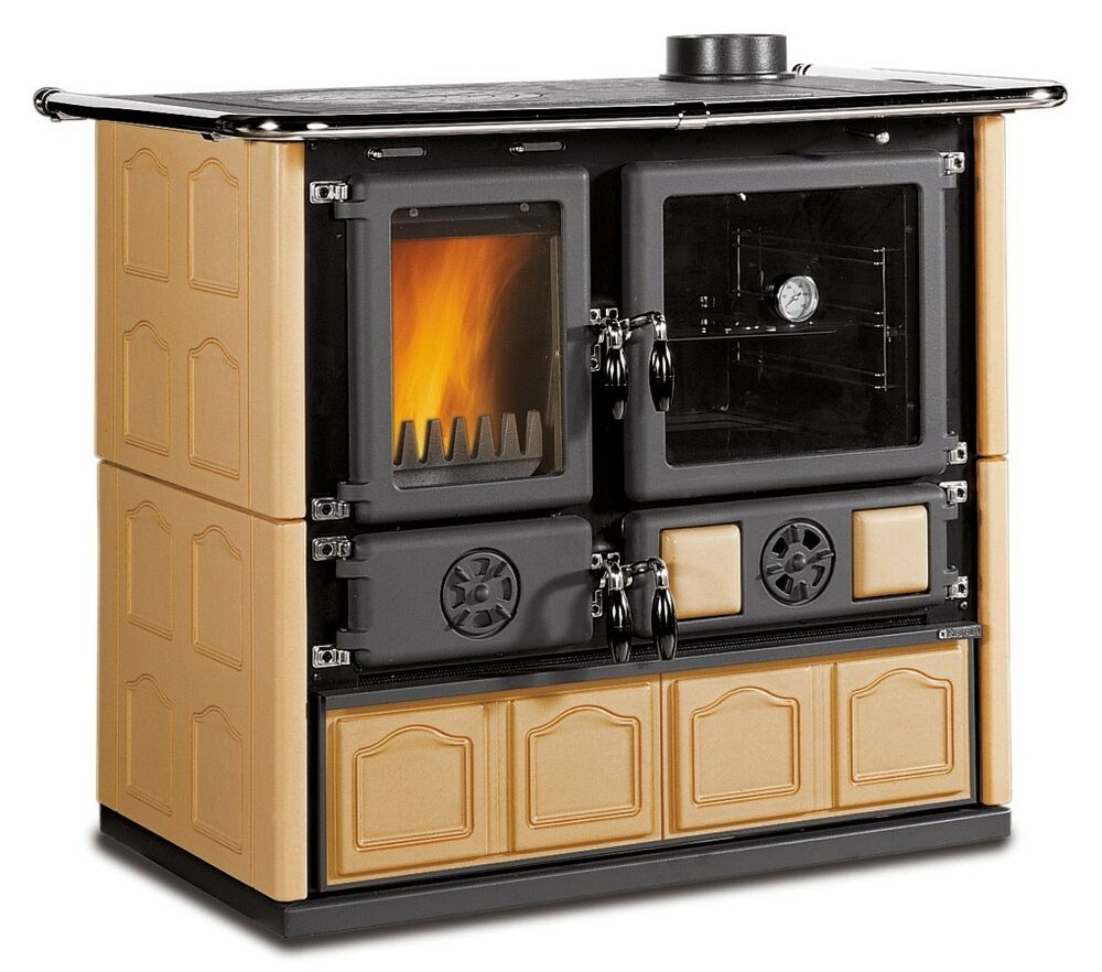 Wood Cook Stove La Nordica - Wood Burning Cook Stove EBay