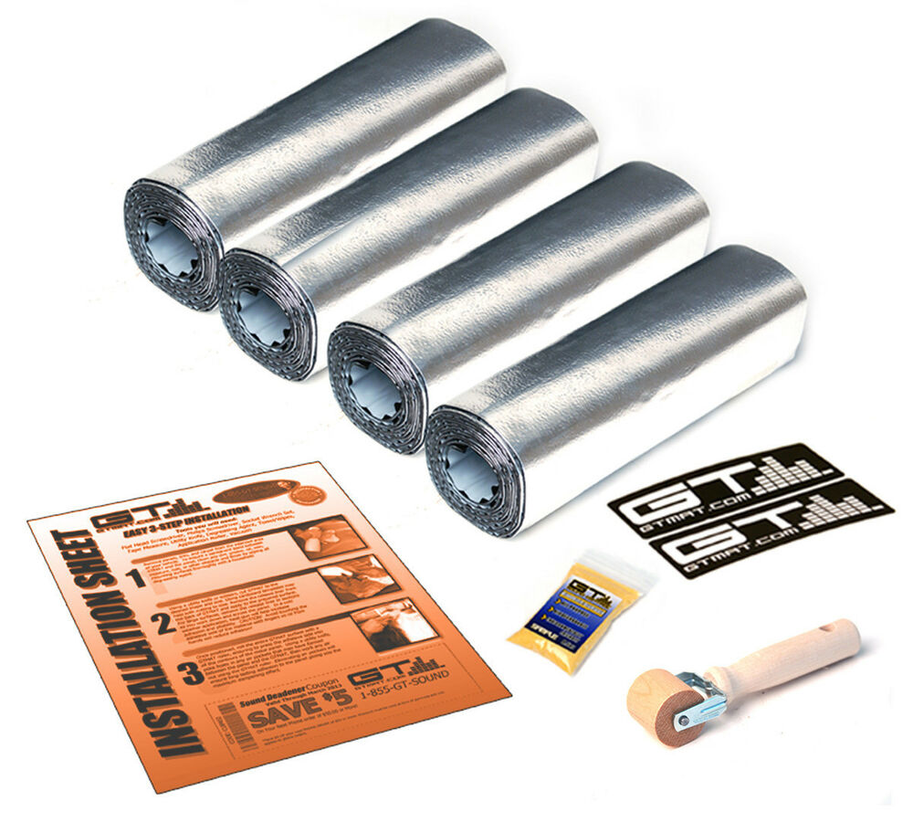 Car Soundproofing Kits : Two door kit quot x sheets gtmat ultra mil car sound