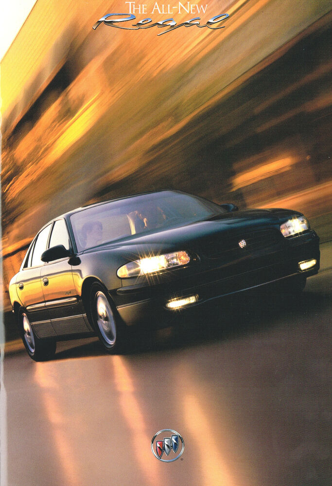 1997 Buick Regal Brochure    Catalog With Color Chart  Ls  Gs  Supercharged