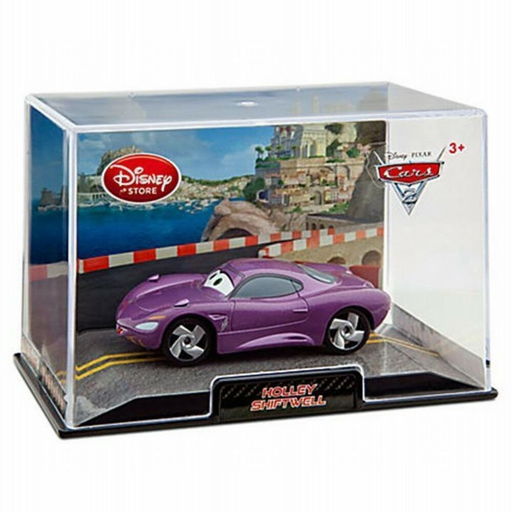 Disney Store Cars 2 Die Cast Collector Case Holley